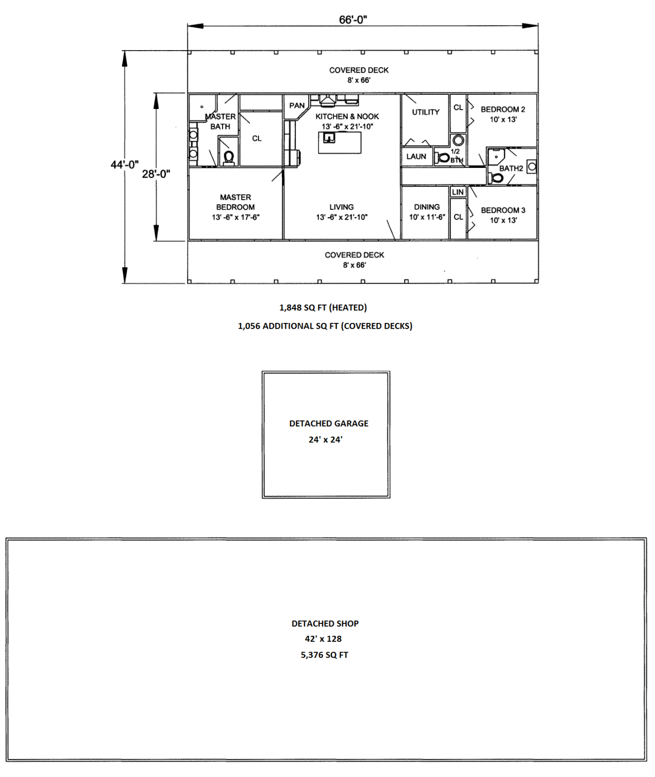 349 Fort Lamar - Floor Plan (Vertical Image)